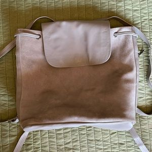 Urban Outfitters suede front backpack